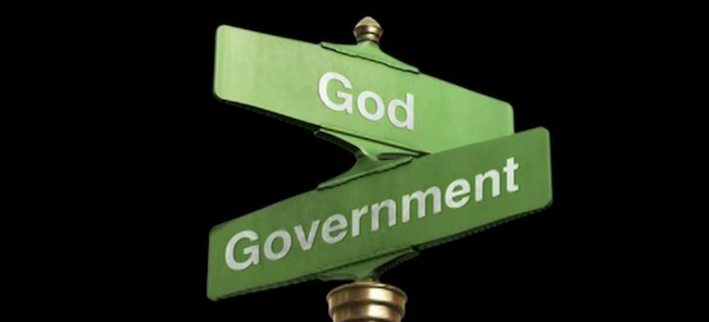 god, the bible, the law, and government and politics