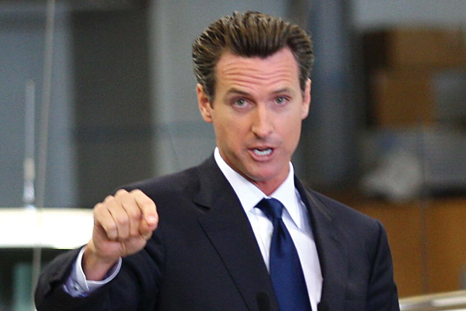 nutty Gavin Newsom and thanksgiving orders