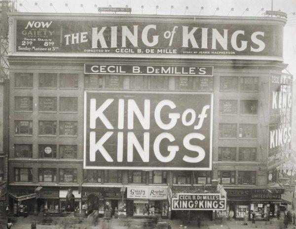 King of Kings film and Jewish censorship