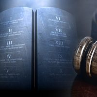 Rulers judging based upon God's laws bring stability to the land and nation