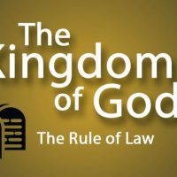 The law and the kingdom of God
