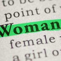 Fake Dictionary, definition of the word woman by Oxford Dictionary.